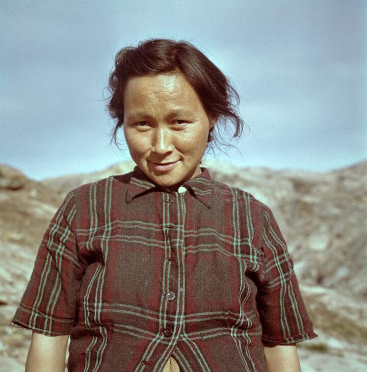 Werner Schwarz Inuit Portrait Junge Frau Stiftung Werner Schwarz | Bern Schweiz