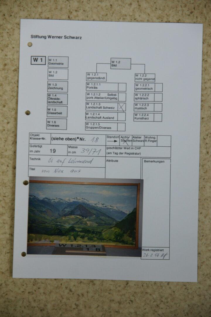 M 0289 3 Stiftung Werner Schwarz   Bern Schweiz