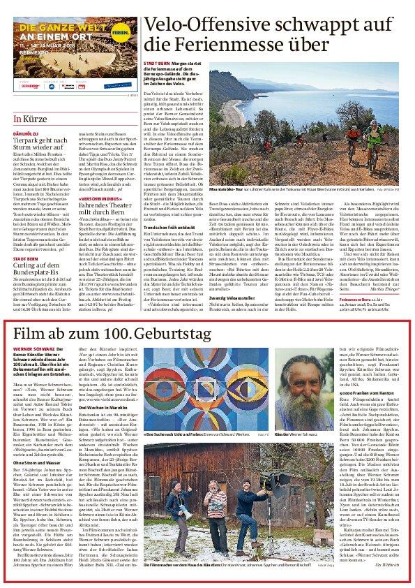 Stiftung Werner Schwarz | Bern Schweiz